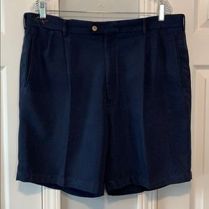 Greg Norman Collection blue golf shorts